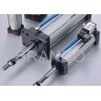 China Automation Micro Adjustable Stroke Pneumatic Cylinder 0.15 - 0.9 Mpa Working Pressure wholesale