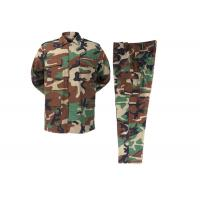 China Woodland   camouflage  Rip-stop BDU Woodland Army Police Uniforms wholesale