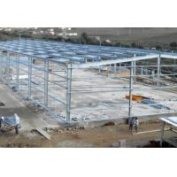 China Hot-dipped Galvanized Steel Frame For Garage With Colored Steel Roof & Wall wholesale