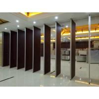 Buy cheap Thickness 85 mm Aluminium Sliding Track Soundproof Hotel Movable Partition Wall from wholesalers