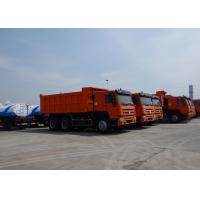 Buy cheap Heavy Duty Garden Cart Tipper Dump Truck , Tandem Axle Dump Truck Max Speed 75 Km/H from wholesalers
