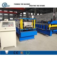 China Galvanized Steel Profile Roofing Roll Forming Machine With Tower Structure , Automatic wholesale