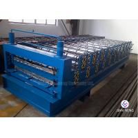 China 5 Ton Manual Decoiler Metal Roofing Machine PLC Controlled Glazed Trapezoidal wholesale