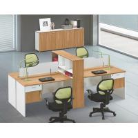 China modern 4 seats office workstation in warehouse in Foshan wholesale