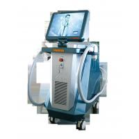 White And Blue Beauty Diode Laser For Hair Removal Machine , 808nm Wavelength