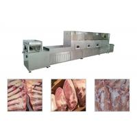 China Belt Type Frozen Meat Microwave Thawing Machine wholesale