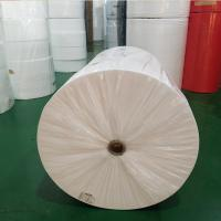 China Water Repellent Non Woven Cloth , Non Woven Polyester Fabric Rolls Harmless on sale