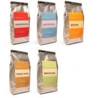 China Printed Matte Finish Coffee Bags Packaging Tin-tie Silvery Square Bottom on sale