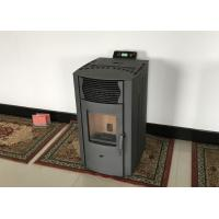 China Customized Small Room Pellet Stove , Pellet Boiler Stove With Cast Iron Burning Pot wholesale