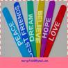China hot selling fashion rubber silicone slap bracelet wholesale