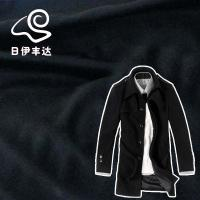 China 100% sheep wool woven wool fabric for jacket,coat and dress on sale