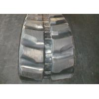 China Rubber track for Komatsu PC75 / PC75R.2 (450 x 76 x 80) with joint free inner steel ​ on sale