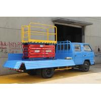 China Vehicle Mounted Hydraulic Aerial Work Platform 1m - 9m Height For Engineering Rescue wholesale
