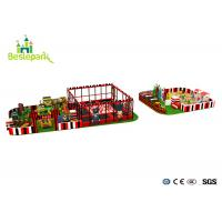China Commercial Centre Kids Indoor Playground Anti - Static Colorful Theme wholesale