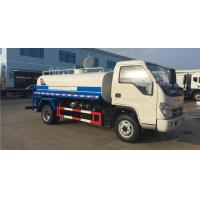 Anti Dust Water Bowser Truck 6000-8000 Liters Jac Sewer Tanker Truck For Water Spraying