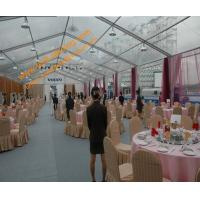 China Clear Roof Tents for Wedding Party Event  Aluminum Structure Fire Retardant Marquee wholesale