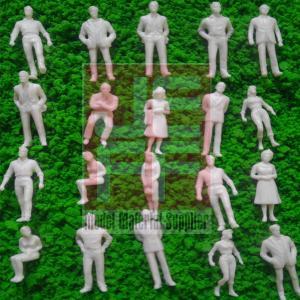 China Scale Model figure,layout mini human ABS White COLOR figure PCW 1/25--1/200 wholesale