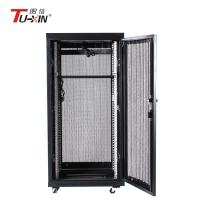 China Compatible 600 X 600mm Network Rack Cabinet , Dustproof Small Computer Rack Cabinet wholesale