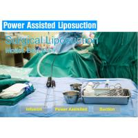 Aesthetic Power Assisted Liposuction Machine , Upper Arm Surgical Suction Slimming Machine