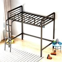 China China metal bed frame base steel loft bed adult loft bed with stairs wholesale