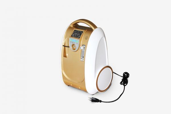 Quality Medical Portable O2 Concentrators Continuous Flow , Golden Yellow Portable Air Concentrator for sale