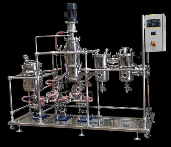 Quality Essential Oil Extraction Short Path Molecular Distillation Equipment/hemp extraction/Short Path Vacuum Distillation for sale
