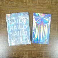 China Biodegradable Iridescent Mylar Laser Pouch Plastic Bag Packaging Salt Coffee Body Scrub on sale