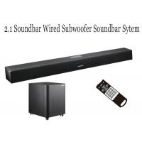 China Full Function TV Soundbar With Wired Subwoofer For Home Theater Music System wholesale