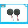 China Milímetro piezoeléctrico de alambre de unidad externa del zumbador 13 * 2,5 de Mirco de la alta presión sonora usado en ordenadores wholesale