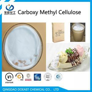 China High Viscosity Sodium Carboxylmethyl Cellulose CMC Powder For Ice Cream Produce on sale