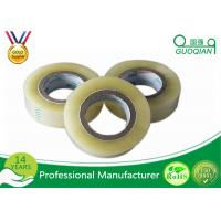 Single Sided Transparent BOPP Packing Tape / Masking Tape Tensile Strength SGS ROHS
