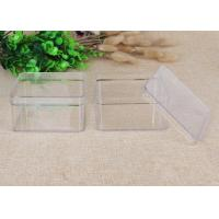 China Ellipse Clear Plastic Container Box Storage Hard Plastic With Lid on sale