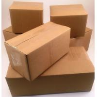 China Anti - Collision Corrugated Cardboard Boxes For Shipping / Clothing Packaging wholesale
