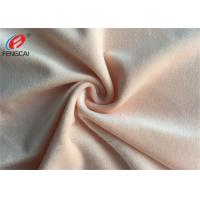 China Knitted Minky Plush Fabric 100 % Polyester Solid Colour Velboa For Blanket wholesale