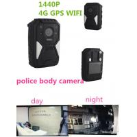 China OEM 1440P  wearable wifi camera waterproof live streaming body camera with 4G GPS wholesale
