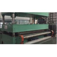 China Continuous Available Carpet Tile Cutting Machine 120cm Width 12 KW Total Power wholesale