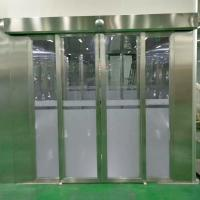 China Clean Room Air Shower With Auto Sliding doors for both people and goods wholesale
