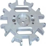 China Powder Coating High Precision Machined Parts Customized AL7075 Aluminum wholesale