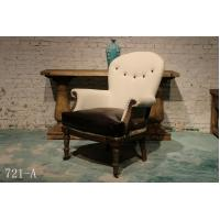 China antique British old style leather chair furniture,#721-A wholesale