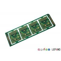Buy cheap 10 Layers Printed Circuit Board PCB Green Solder Mask ENIG Surface Treatment from wholesalers