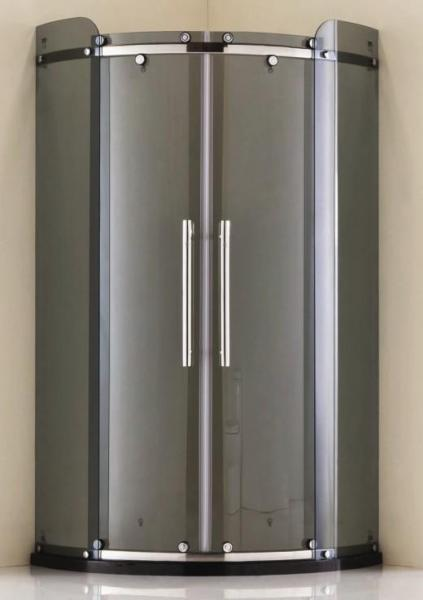 Quality 304# Stainless steel quadrant shower enclosure for sale