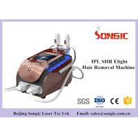 China Portable SHR IPL Hair Removal Machine , Skin Rejuvenation Machine with Double Handle wholesale