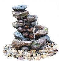 Buy cheap Decorative Tower Hand Cast Rock Water Fountains OEM Acceptable from wholesalers