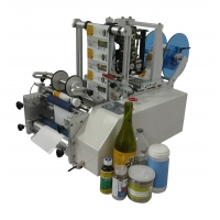 China High Quality Willdone Automatic Sticker Labeling Machine For round bottle sticker labeling machine wholesale