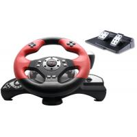 China Big 2 Axis 12 Button Ps3 / Ps2 Steering Wheel And Pedals With Auto Centering wholesale