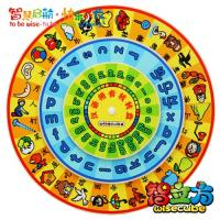 China Cheap Wooden Chinese Pinyin /Character Turntable Early Childhood Educational Toys for Kids wholesale