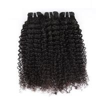"China Natural Color Peruvian Body Wave Hair Bundles Curly Dancing And Soft 10"" To 30"" Stock wholesale"