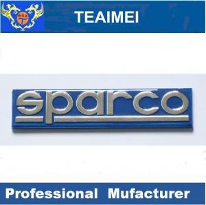 China Customized Sparco Custom Auto Emblems Badges Universal Car Nameplate wholesale