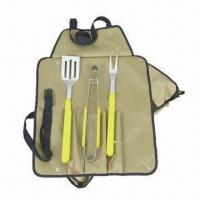 China Barbecue tool kit with stainless steel blade wholesale