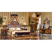 Buy cheap Classical Wood Cherry Bedroom Furniture from wholesalers
